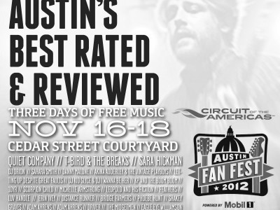 "Bazaarvoice / Circuit of the America's F1: ""Austin's Best Rated"""